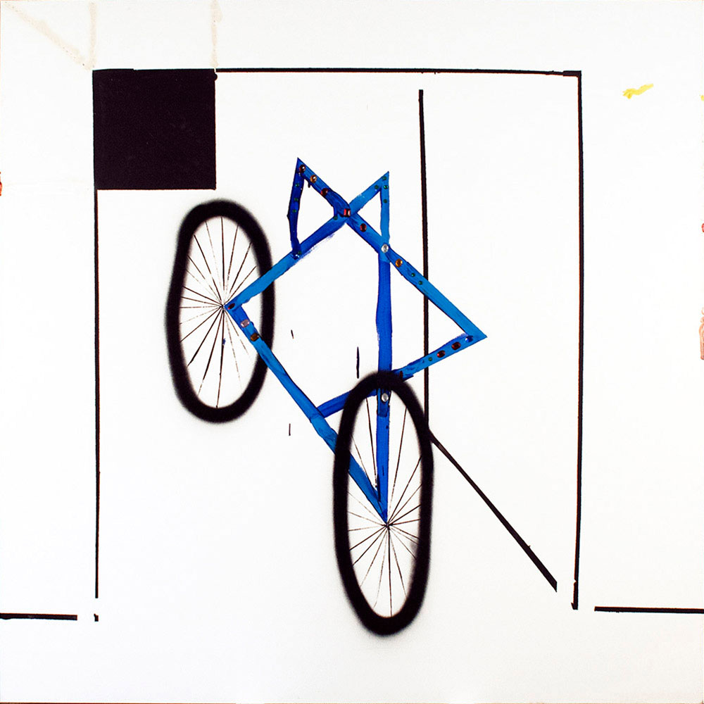 Bicycles, 2011 - pinturas