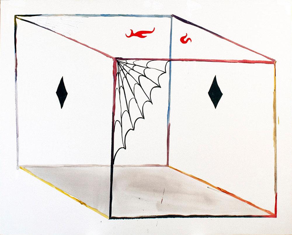 Ahora x2 Cubos, 2014 - pinturas